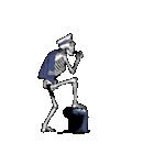 骨のスタンプ4(個別スタンプ:11)