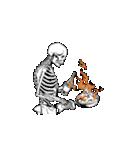 骨のスタンプ4(個別スタンプ:22)