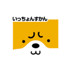 柴犬くんの日常 熊本弁編(個別スタンプ:32)