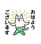 タイツをはいた猫・3~敬語編~(個別スタンプ:01)