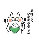 タイツをはいた猫・3~敬語編~(個別スタンプ:29)