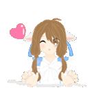 mari&mera pop up sweet love(個別スタンプ:14)