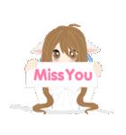 mari&mera pop up sweet love(個別スタンプ:19)