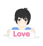 mari&mera pop up sweet love(個別スタンプ:21)