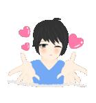 mari&mera pop up sweet love(個別スタンプ:22)