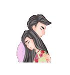 ロマンチックなカップル(個別スタンプ:16)