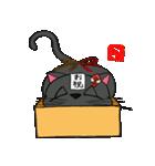 国産黒毛和猫 黒丸(個別スタンプ:12)
