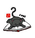 国産黒毛和猫 黒丸(個別スタンプ:31)