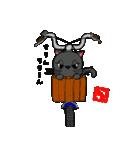 国産黒毛和猫 黒丸(個別スタンプ:34)