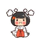 巫女さんコンさん(個別スタンプ:02)