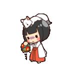 巫女さんコンさん(個別スタンプ:07)