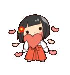 巫女さんコンさん(個別スタンプ:09)