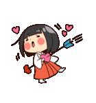 巫女さんコンさん(個別スタンプ:10)