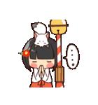 巫女さんコンさん(個別スタンプ:19)