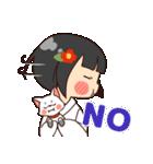 巫女さんコンさん(個別スタンプ:22)
