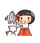 巫女さんコンさん(個別スタンプ:24)