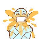 マスクの青男(個別スタンプ:22)