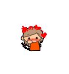 オレンジちゃんとブラウンくん【女の子用】(個別スタンプ:13)