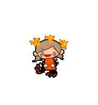 オレンジちゃんとブラウンくん【女の子用】(個別スタンプ:25)