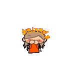 オレンジちゃんとブラウンくん【女の子用】(個別スタンプ:26)