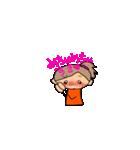 オレンジちゃんとブラウンくん【女の子用】(個別スタンプ:32)