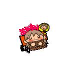 オレンジちゃんとブラウンくん【女の子用】(個別スタンプ:39)