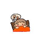 オレンジちゃんとブラウンくん【女の子用】(個別スタンプ:40)
