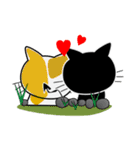 黒猫ハッピー2(個別スタンプ:11)