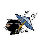 黒猫ハッピー2(個別スタンプ:26)