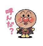 かわいい!ぷちアンパンマンクレヨンタッチ(個別スタンプ:01)