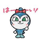 かわいい!ぷちアンパンマンクレヨンタッチ(個別スタンプ:04)