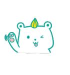 Anna&Bear(個別スタンプ:09)