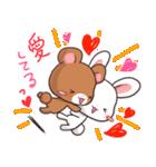 毎日いっしょ☆うさくまのラブスタンプ3(個別スタンプ:4)