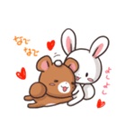 毎日いっしょ☆うさくまのラブスタンプ3(個別スタンプ:13)