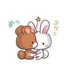 毎日いっしょ☆うさくまのラブスタンプ3(個別スタンプ:36)