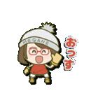 がんばれ眼鏡女子2(個別スタンプ:6)