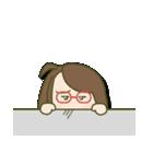 がんばれ眼鏡女子2(個別スタンプ:26)