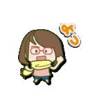 がんばれ眼鏡女子2(個別スタンプ:37)
