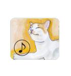 猫のカルタ風(個別スタンプ:4)