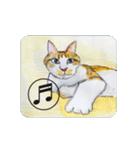 猫のカルタ風(個別スタンプ:5)