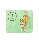 猫のカルタ風(個別スタンプ:6)