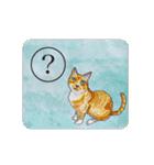 猫のカルタ風(個別スタンプ:7)