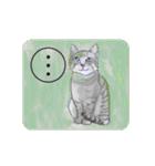 猫のカルタ風(個別スタンプ:8)