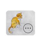 猫のカルタ風(個別スタンプ:9)