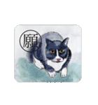 猫のカルタ風(個別スタンプ:31)
