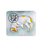 猫のカルタ風(個別スタンプ:39)