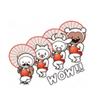 Moo! Moo! & Friends! ゆるゆる天国 ④(個別スタンプ:01)