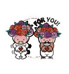 Moo! Moo! & Friends! ゆるゆる天国 ④(個別スタンプ:04)