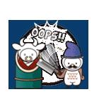 Moo! Moo! & Friends! ゆるゆる天国 ④(個別スタンプ:09)