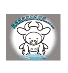 Moo! Moo! & Friends! ゆるゆる天国 ④(個別スタンプ:14)